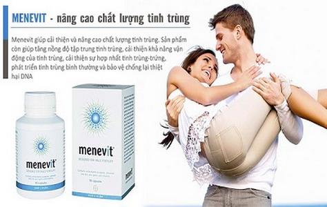 MENEVIT - Nâng cao chất lượng tinh trùng