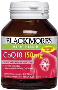 Thuốc bổ tim CoQ10 150mg Blackmores