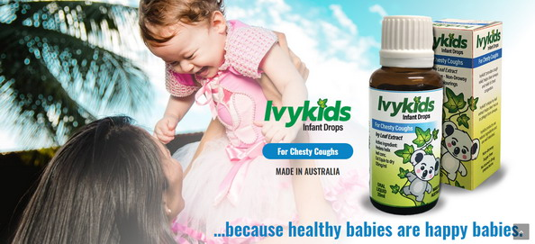 Ivy Kids- Siro thảo dược trị ho hiệu quả từ Úc