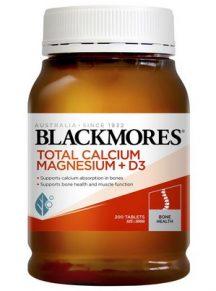 Viên bổ sung Blackmore Total Calcium Magnesium D3 mẫu mới 2020