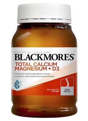 Viên bổ sung Blackmore Total Calcium Magnesium D3