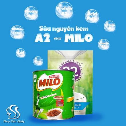 A2 và Milo - Cặp đôi hoàn hảo cho bé