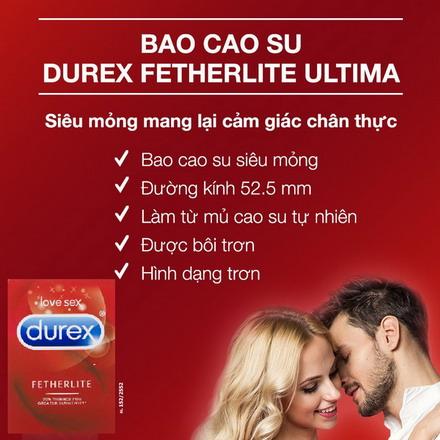 Bao cao su Durex Úc - Mang đến cảm giác chân thực nhất