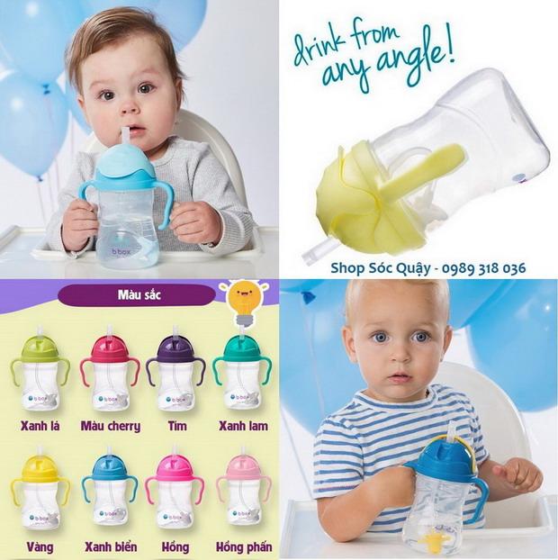 Bình tập uống BBox - An toàn tuyệt đối cho trẻ