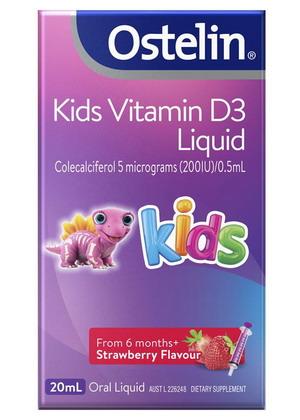 Ostelin Vitamin D3 Kids 20ml