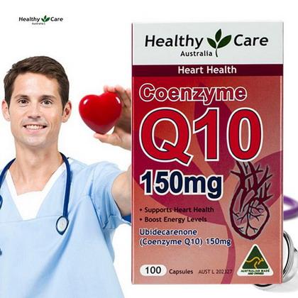 Bổ tim CoQ10 của HealthyCare Úc - Bổ sung CoQ10 đầy đủ cho trái tim luôn khỏe mạnh