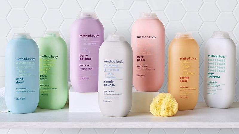 Các loại sữa tắm Method Body được ưa chuộng tại Việt Nam