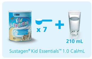 Cách pha sữa Kid Úc 800g
