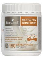Thuốc bổ sung canxi cho người lớn - bio island milk calciumbone care150 viên