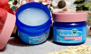Dầu Baby Balsam - Giữ ấm, giảm ho, chống cảm lạnh cho bé