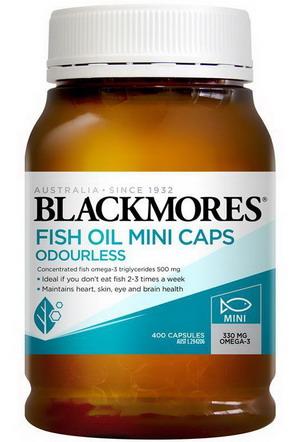 Dầu cá BlackMores Fish Oil 1000mg hộp 400 viên