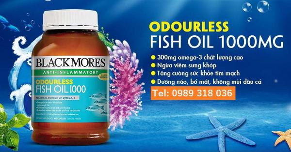 Dầu cá Blackmores - Nguồn bổ sung Omega3 tuyệt vời cho sức khỏe của bạn