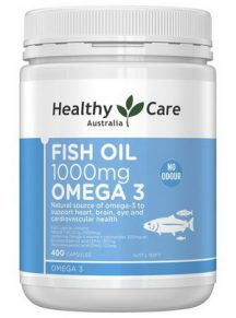 Dầu cá Healthy Care Fish Oil 1000mg Omega 3 - 400 viên