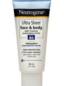 Kem chống năng Neutrogena Ultra Sheer Face and Body SPF50