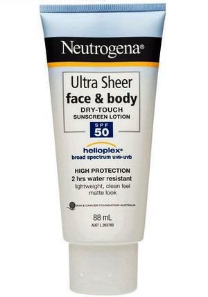 Kem chống nắng Neutrogena Ultra Sheer Face & Body SPF50