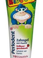 Kem đánh răng vị dâu Perlodent - Đức (cho bé từ 0-6 tuổi)