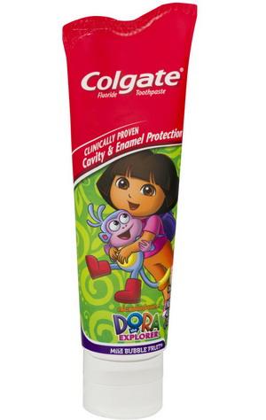 Kem đánh răng Colgate cho trẻ em - vị hoa quả - Dora