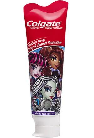 Kem đánh răng Colgate cho trẻ em - vị hoa quả - Hình Kid Monster