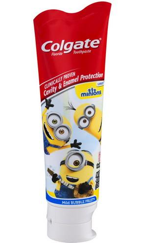 Kem đánh răng Colgate cho trẻ em - vị hoa quả - Hình Minions