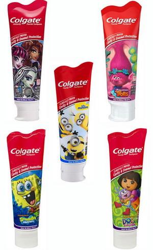Kem đánh răng trẻ em Colgate