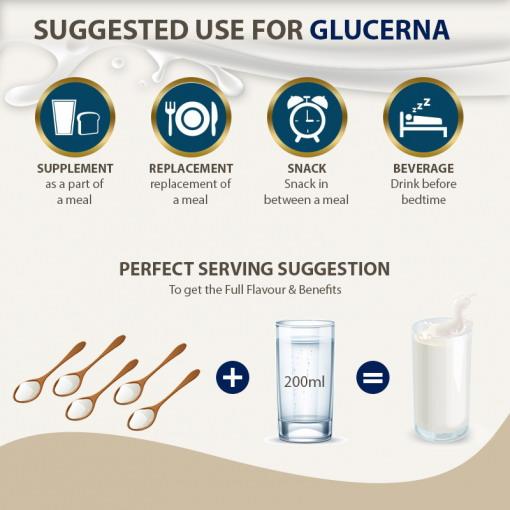 Khuyến nghị khi sử dụng sữa glucerna tiểu đường