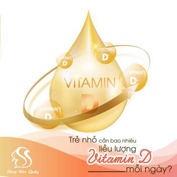 Bổ sung VItamin D cho bé với liều lượng thế nào là hợp lí