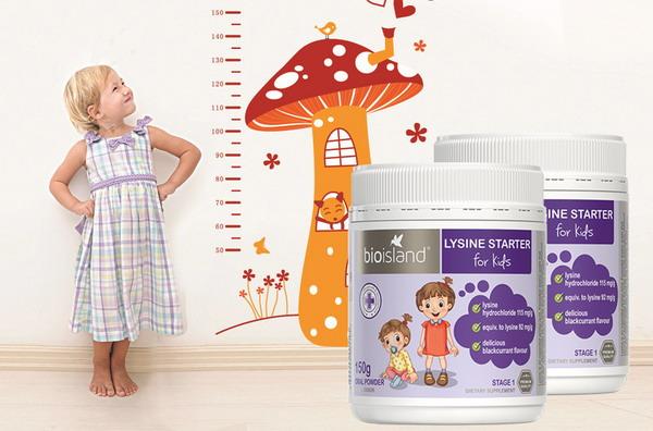 Lysine Úc - lysine bột giúp bé cao lớn mỗi ngày