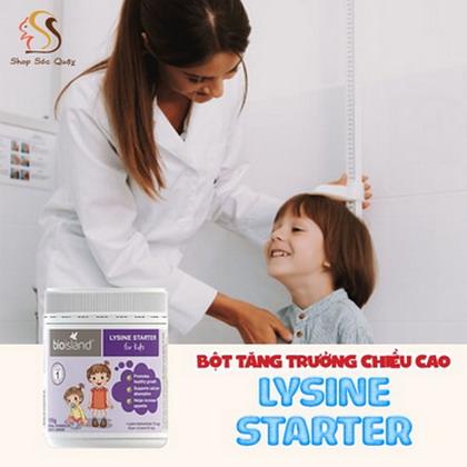 Bột tăng chiều cao Lysine Starter cho trẻ từ 4 tháng
