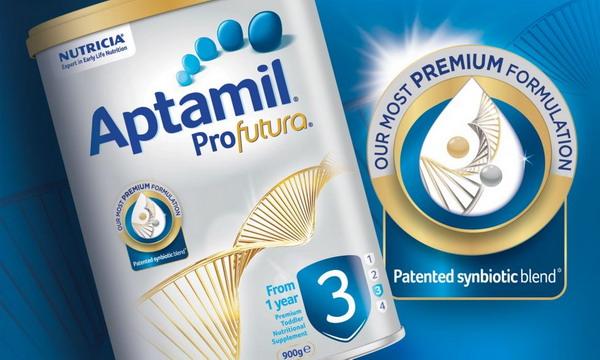 Sữa Aptamil số 3 với công thức tiên tiến dduuowwcj bổ sung men vi sinh độc đáo