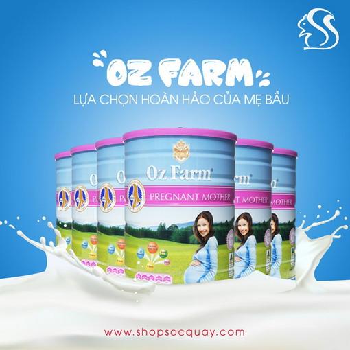 Sữa bầu Oz farm - Sự lựa chọn tốt nhất cho Mẹ bầu