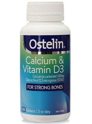 Ostelin Calcium & Vitamin D3 cho bà bầu