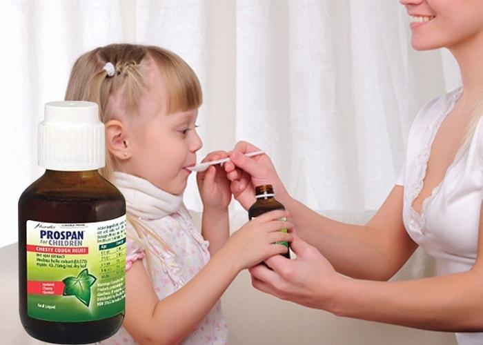 Thuốc ho Prospan 100ml- Giải pháp trị ho, khó thở hiệu quả cho trẻ