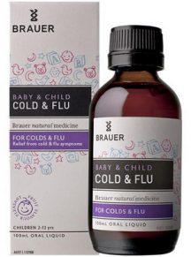 Siro trị cảm cúm, cảm lạnh Brauer Úc