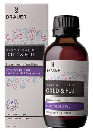 Siro trị cảm cúm, cảm lạnh Brauer