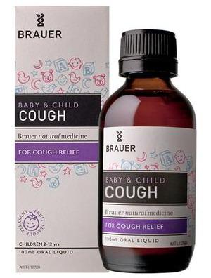 Siro trị ho khan cho bé Brauer Baby & Child Cough