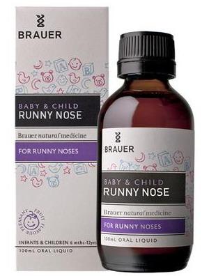 Siro trị sổ mũi cho bé Brauer Runny Nose
