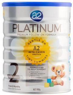 Sữa A2 Platinum số 2 cho bé từ 6 -12 tháng tuổi