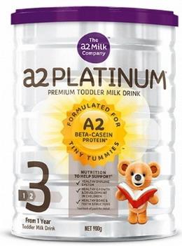 Sữa A2 platinum số 3 mẫu cũ 2017