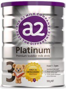Sữa A2 Platinum số 3 - mẫu mới 2018
