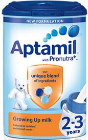 Sữa Aptamil Anh số 2+ - Mẫu mới - Dành cho bé từ 2-3 tuổi