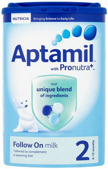 Sữa Aptamil Anh số 2 - Follow On milk - Mẫu mới 2015