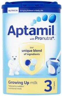 Sữa Aptamil Anh số 3 - Growing Up milk - Mẫu mới 2015