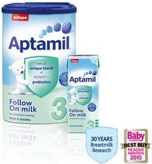 Sữa Aptamil số 3 - cho bé từ 6 -12 tháng