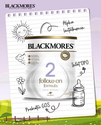 Sữa Blackmores số 2 (Follow On Formula Stage 2) là sản phẩm sữa công thức dành cho trẻ em của hãng Blackmores – thương hiệu hàng đầu về chăm sóc sức khỏe