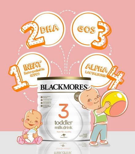 Sữa Blackmores số 3 - sản phẩm đến từ công ty hàng đầu về vitamin