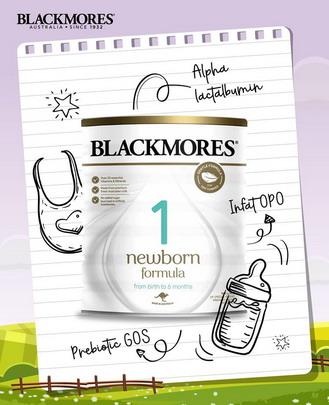 Sữa Blackmores số 1 (Newborn Formula Stage1)