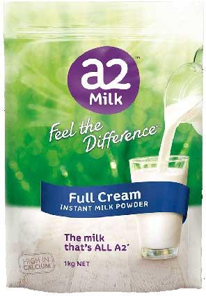 Sữa nguyên kem A2 mẫu cũ