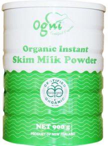 Sữa tách kem siêu sạch Organic Ogni