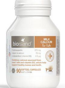 Viên sữa canxi Bio island Calci milk 90 viên - mẫu mới 2017