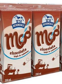 Sữa Devondale pha sẵn, hộp 200ml, thùng 24 hộp vị Socola - Tiện lợi khi sử dụng